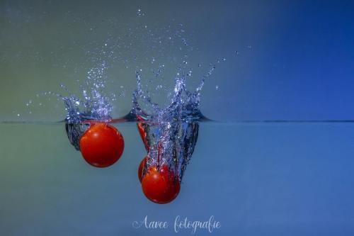 Splash cherry tomato